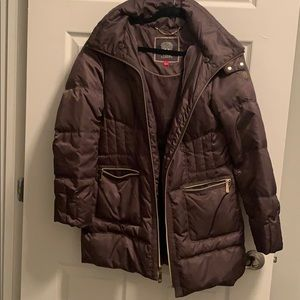 Vince Camuto Puffer Coat - warm but stylish.
